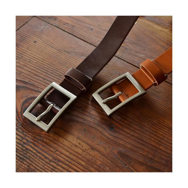 ベルト メンズ レディース 送料無料 日本製 栃木レザー/Nippon de Handmade/スマート 30mm デニム スーツ カジュアル ビジネス 本革|beltlab-y|10