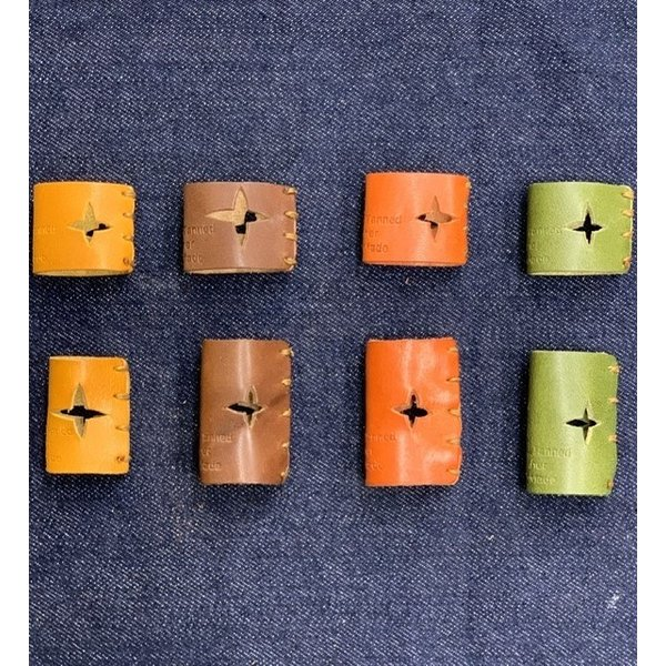 栃木レザー 革リング 非接触 タッチレス 本革指輪 レザーリング ボタン触らない 本革リング ボタン 二次接触防止 おすすめ 自社生産|beltokuda