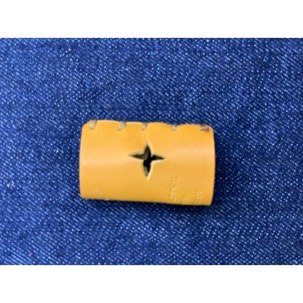 栃木レザー 革リング 非接触 タッチレス 本革指輪 レザーリング ボタン触らない 本革リング ボタン 二次接触防止 おすすめ 自社生産|beltokuda|10