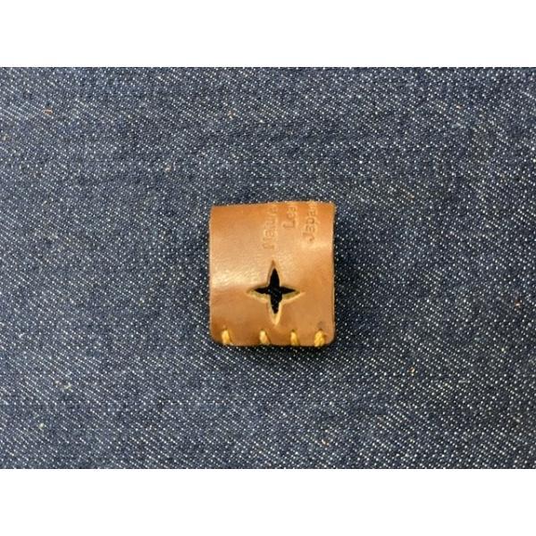 栃木レザー 革リング 非接触 タッチレス 本革指輪 レザーリング ボタン触らない 本革リング ボタン 二次接触防止 おすすめ 自社生産|beltokuda|18