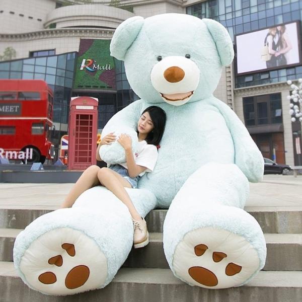 ぬいぐるみ くま テディベア 大きい コストコ 抱き枕 クッション かわいい 誕生日プレゼント  130cm|beluhappines