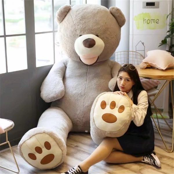 ぬいぐるみ くま テディベア 大きい コストコ 抱き枕 クッション かわいい 誕生日プレゼント  130cm|beluhappines|13