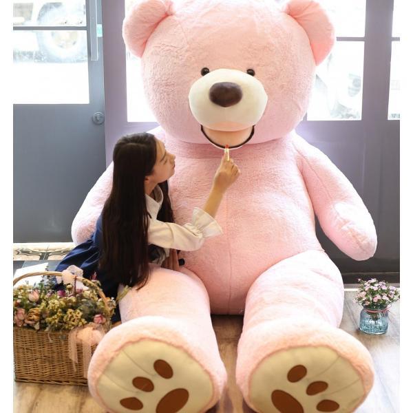 ぬいぐるみ くま テディベア 大きい コストコ 抱き枕 クッション かわいい 誕生日プレゼント  130cm|beluhappines|14