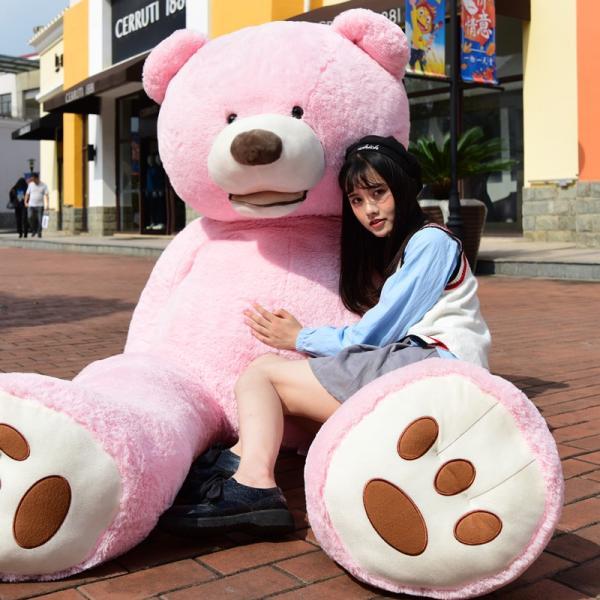 ぬいぐるみ くま テディベア 大きい コストコ 抱き枕 クッション かわいい 誕生日プレゼント  130cm|beluhappines|15