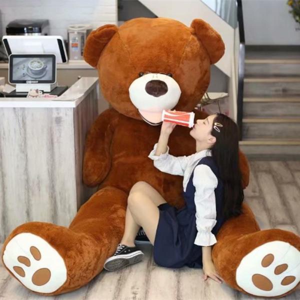 ぬいぐるみ くま テディベア 大きい コストコ 抱き枕 クッション かわいい 誕生日プレゼント  130cm|beluhappines|16