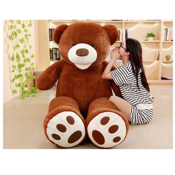 ぬいぐるみ くま テディベア 大きい コストコ 抱き枕 クッション かわいい 誕生日プレゼント  130cm|beluhappines|17