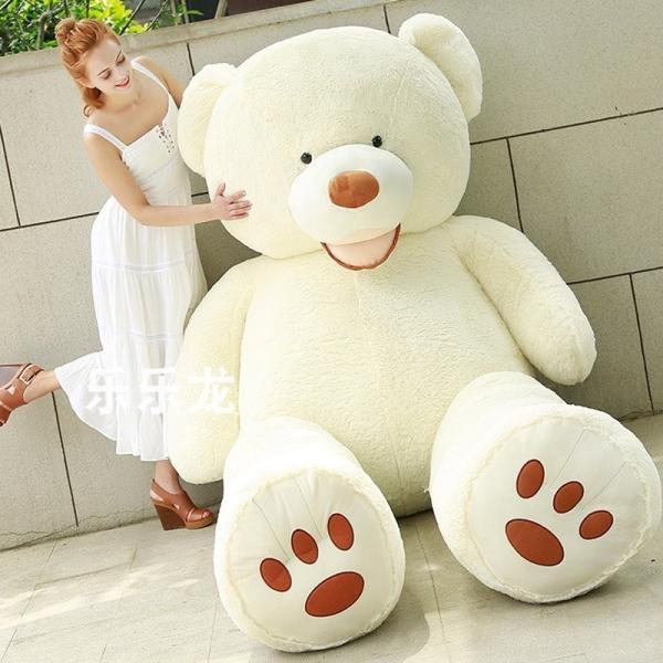 ぬいぐるみ くま テディベア 大きい コストコ 抱き枕 クッション かわいい 誕生日プレゼント  130cm|beluhappines|05