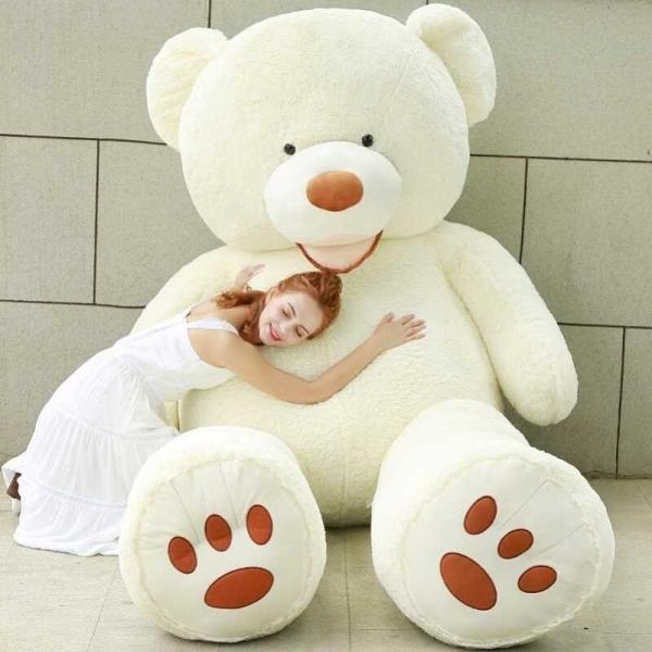 ぬいぐるみ くま テディベア 大きい コストコ 抱き枕 クッション かわいい 誕生日プレゼント  130cm|beluhappines|06
