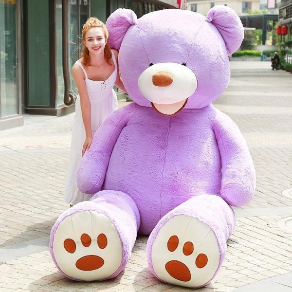 ぬいぐるみ くま テディベア 大きい コストコ 抱き枕 クッション かわいい 誕生日プレゼント  130cm|beluhappines|07