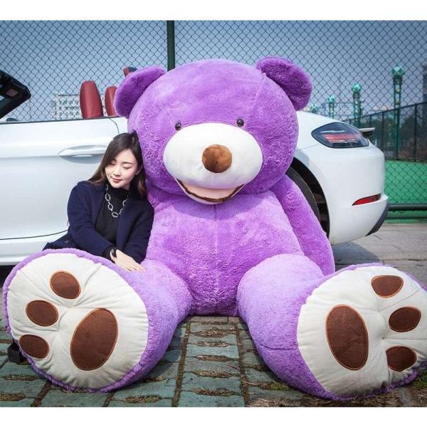 ぬいぐるみ くま テディベア 大きい コストコ 抱き枕 クッション かわいい 誕生日プレゼント  130cm|beluhappines|09