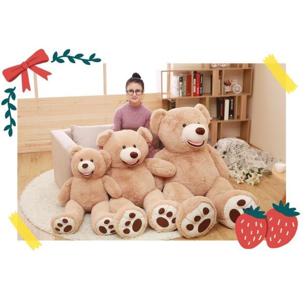 クマ ぬいぐるみ  熊 コストコ テディベア クリスマス 誕生日 プレゼント 彼女 抱き枕 可愛い 160cm|beluhappines