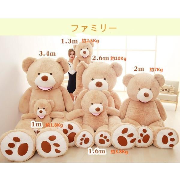 クマ ぬいぐるみ  熊 コストコ テディベア クリスマス 誕生日 プレゼント 彼女 抱き枕 可愛い 160cm|beluhappines|02