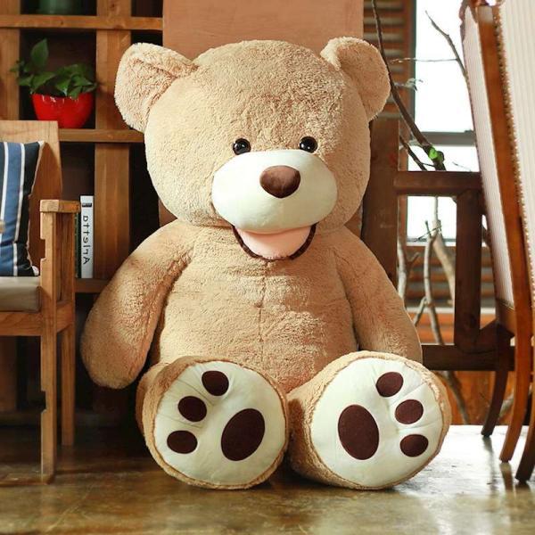 クマ ぬいぐるみ  熊 コストコ テディベア クリスマス 誕生日 プレゼント 彼女 抱き枕 可愛い 160cm|beluhappines|11