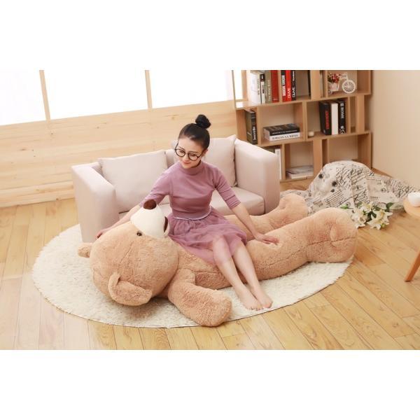 クマ ぬいぐるみ  熊 コストコ テディベア クリスマス 誕生日 プレゼント 彼女 抱き枕 可愛い 160cm|beluhappines|03