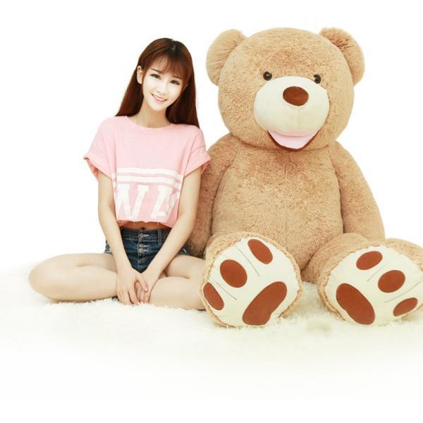 クマ ぬいぐるみ  熊 コストコ テディベア クリスマス 誕生日 プレゼント 彼女 抱き枕 可愛い 160cm|beluhappines|04
