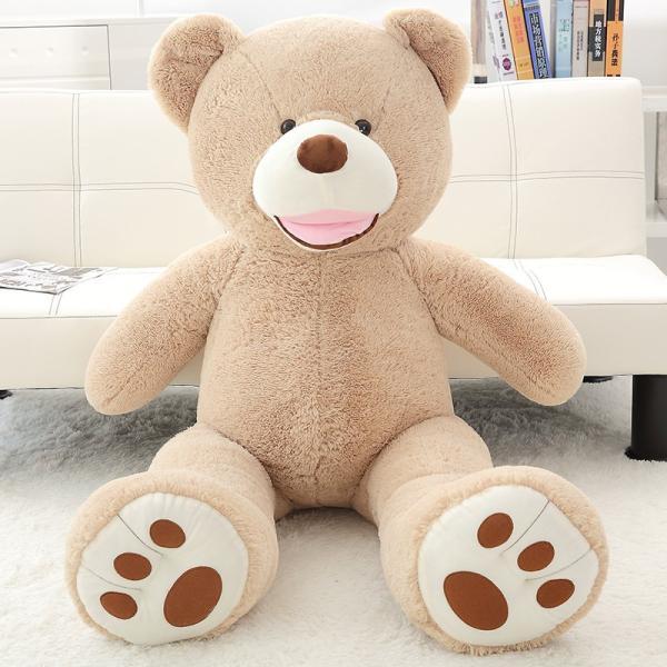 クマ ぬいぐるみ  熊 コストコ テディベア クリスマス 誕生日 プレゼント 彼女 抱き枕 可愛い 160cm|beluhappines|05
