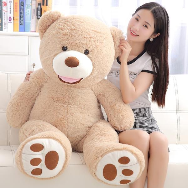 クマ ぬいぐるみ  熊 コストコ テディベア クリスマス 誕生日 プレゼント 彼女 抱き枕 可愛い 160cm|beluhappines|06