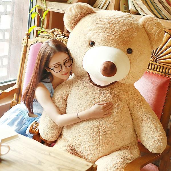 クマ ぬいぐるみ  熊 コストコ テディベア クリスマス 誕生日 プレゼント 彼女 抱き枕 可愛い 160cm|beluhappines|07
