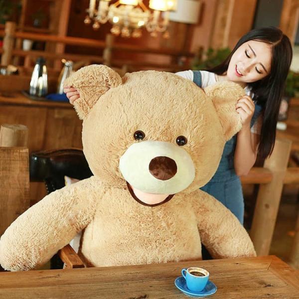クマ ぬいぐるみ  熊 コストコ テディベア クリスマス 誕生日 プレゼント 彼女 抱き枕 可愛い 160cm|beluhappines|08