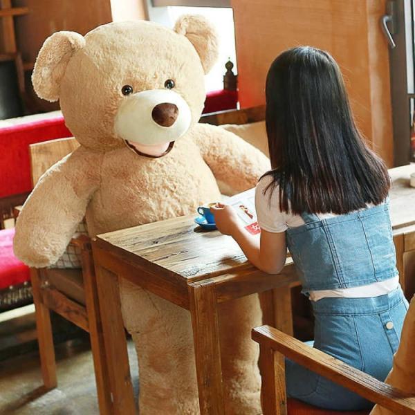 クマ ぬいぐるみ  熊 コストコ テディベア クリスマス 誕生日 プレゼント 彼女 抱き枕 可愛い 160cm|beluhappines|09