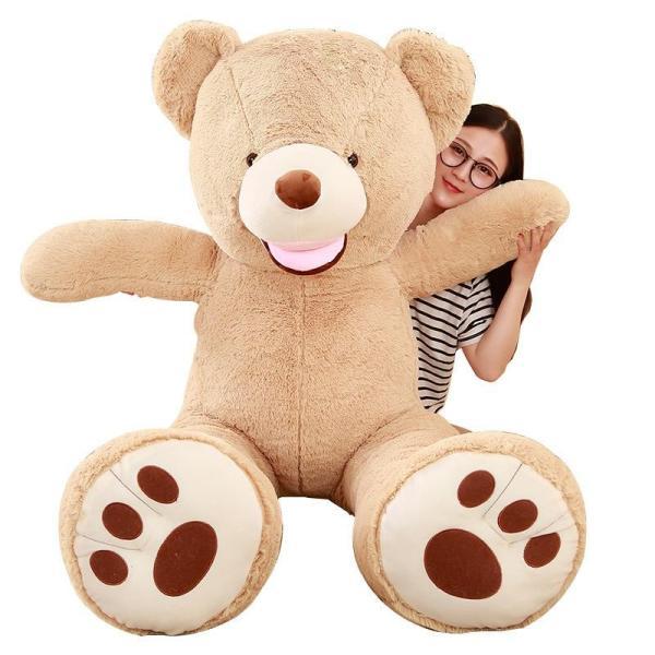 クマ ぬいぐるみ  熊 コストコ テディベア クリスマス 誕生日 プレゼント 彼女 抱き枕 可愛い 160cm|beluhappines|10
