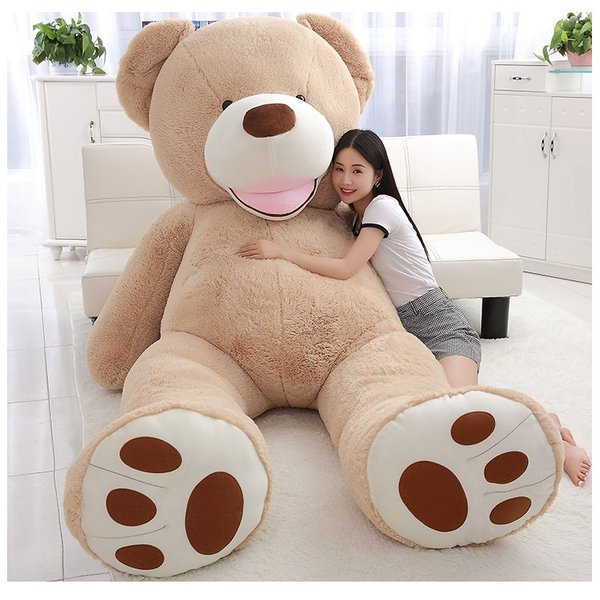 ぬいぐるみ  熊 クマ コストコ 巨大 テディベア 抱き枕 クリスマス 誕生日 プレゼント 可愛い インテリア 撮影道具 添い寝 200cm|beluhappines|10