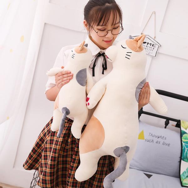 ぬいぐるみ クッション 動物 抱き枕 柴犬 うさぎ パンダ くま ねこ ふわふわ 誕生日プレゼント45cm|beluhappines|07