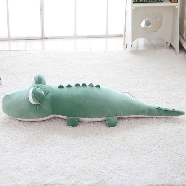ぬいぐるみ 鰐 わに かわいい おもちゃ ふわふわ インテリア雑貨 お祝い 景品 80cm|beluhappines|16