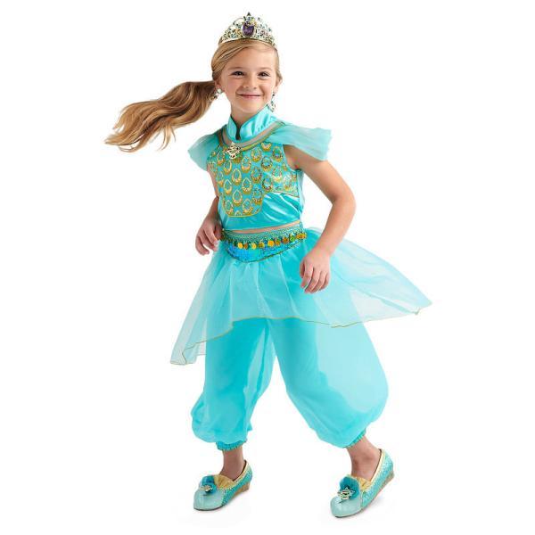 ディズニー Disney US公式 アラジン ジャスミン プリンセス コスチューム 衣装 ドレス 服 コスプレ ハロウィン ハロウィーン 服 コスプ|bemagical|05