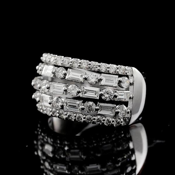 ミルグレイス ダイヤモンドリング PT900 ダイヤ2.0キャラット 特選 限定1本 ポイント8倍