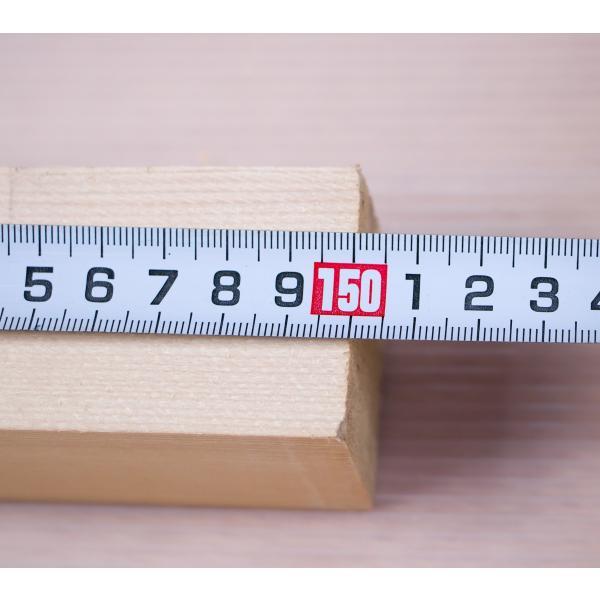 栂角材 4.5cmx4.5cmx150cm 45mmx45mmx1500mm 4.5x4.5 木材 角材 材木 DIY DIY 無垢材 板材 天然木 つが ツガ 栂 45角 45mm角 4.5cm角|beniyamokuzaicom|06
