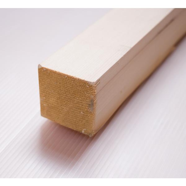 栂角材 4.5cmx4.5cmx199cm 45mmx45mmx1990mm 4.5x4.5 木材 角材 材木 DIY DIY 無垢材 板材 天然木 つが ツガ 栂 45角 45mm角 4.5cm角|beniyamokuzaicom|02