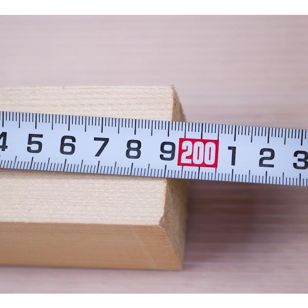 栂角材 4.5cmx4.5cmx199cm 45mmx45mmx1990mm 4.5x4.5 木材 角材 材木 DIY DIY 無垢材 板材 天然木 つが ツガ 栂 45角 45mm角 4.5cm角|beniyamokuzaicom|06