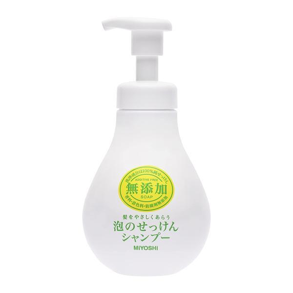 ミヨシ石鹸無添加泡のせっけんシャンプー(500mL)