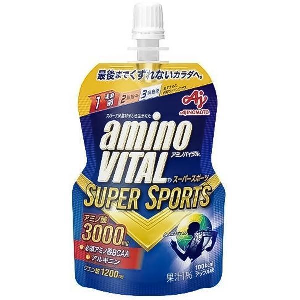 アミノバイタルゼリー スーパースポーツ 100g×6本入