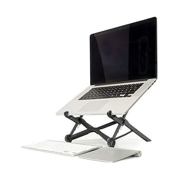 ノートパソコンスタンド ラップトップスタンド 折り畳み式 PCスタンド コンパクト 軽量 頑丈 持ち運び便利 8段階調整可能 肩こり 腰痛対 benriithiban 04