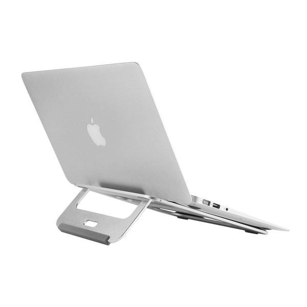 ノートパソコンスタンド ノートPC スタンド パソコンスタンド ラップトップスタンド Macbook マックブック アルミニウム デスクワー|benriithiban|04