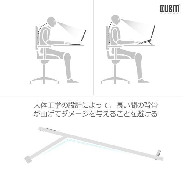 ノートパソコンスタンド ノートPC スタンド パソコンスタンド ラップトップスタンド Macbook マックブック アルミニウム デスクワー|benriithiban|05