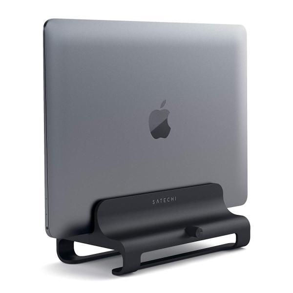 Satechi ユニバーサル バーティカル アルミニウム ラップトップスタンド (MacBook, MacBook Pro, Dell XP|benriithiban