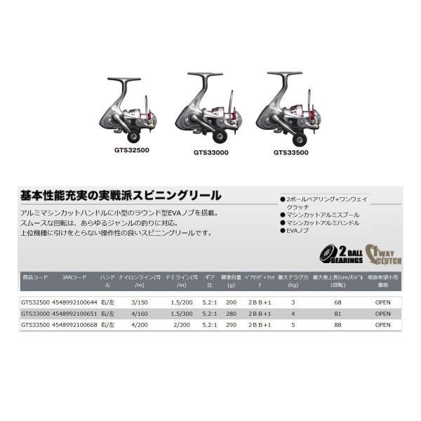 プロックス リール (PROX) GTS-3 GTS33500 3500