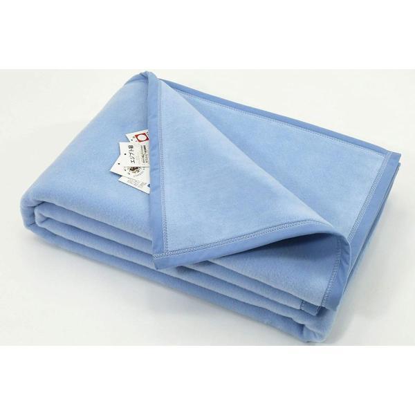 超長綿 綿毛布 ハーフサイズ 公式三井毛織国産C435buH