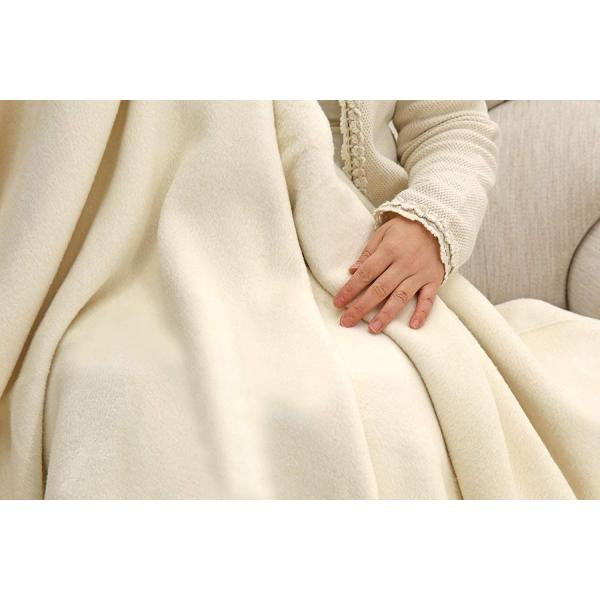 公式 三井毛織 エジプト超長綿 コットン 綿毛布 キングサイズ220x200cm 公式製品 日本製 洗える ナチュラル色