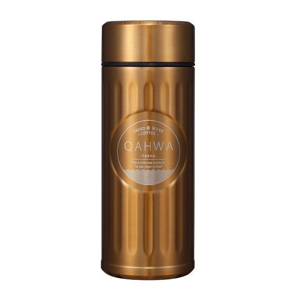 シービージャパン 水筒 420ml 直飲み カフア コーヒー ボトル ゴールド QAHWA|benriithiban|04