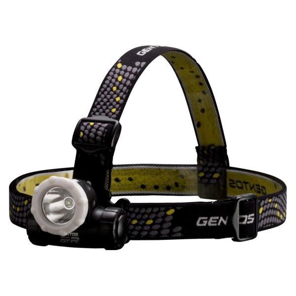 GENTOS(ジェントス) LED ヘッドライト 明るさ130ルーメン/実用点灯5.5時間/防滴 リゲル GTR-943H ANSI規格準拠