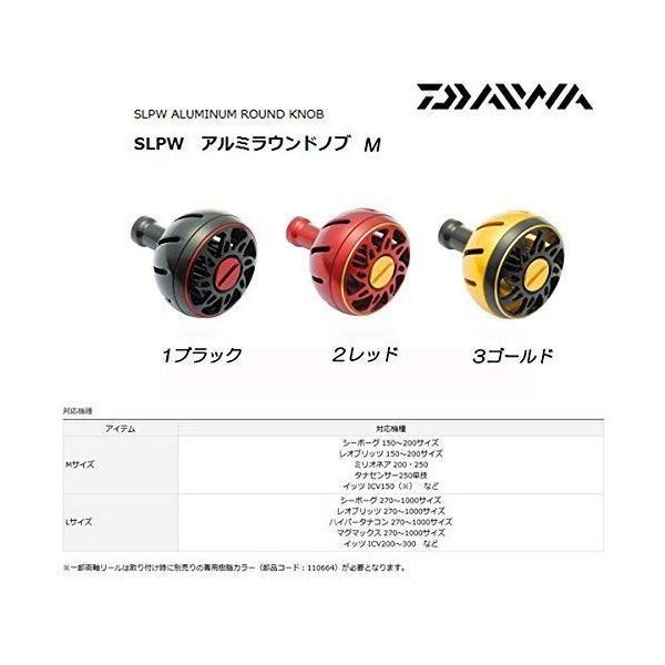 Daiwa SLP WORKS(ダイワSLPワークス) ハンドルノブ スピニングリール用 アルミラウンドノブM RD