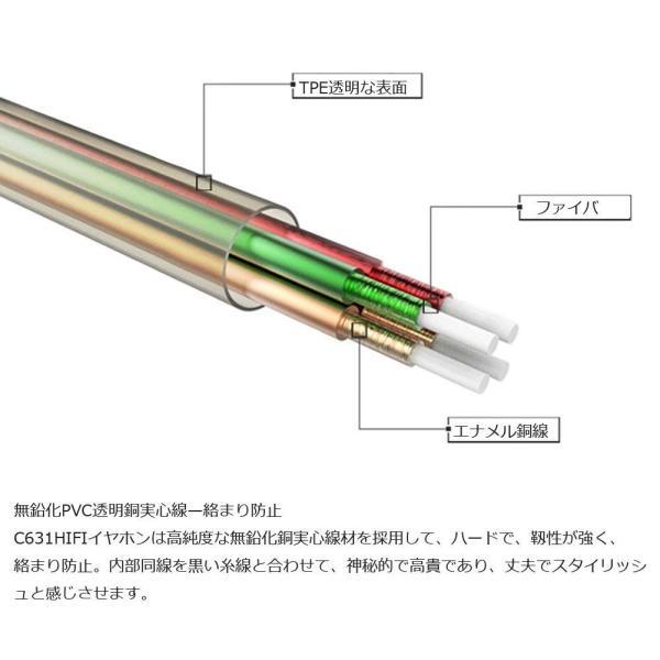 TIMMKOO 3ウェイ・ハイブリッドイヤホン高音質金属イヤホン カナル型 重低音 ノイズ遮断 密閉 (マイクローズゴールド)