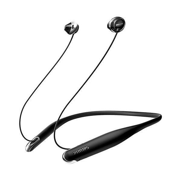 PHILIPS SHB4205 Flite Bluetoothイヤホン ネックバンド型/マイク付き ブラック SHB4205BK 国内正規品