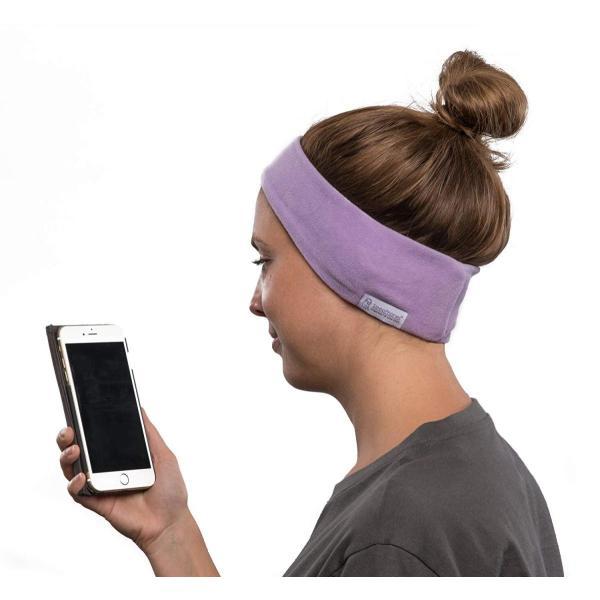 AcousticSheep SleepPhones Wireless 安眠ソフトヘッドホン ワイヤレス Lサイズ クワイエットラベンダー S