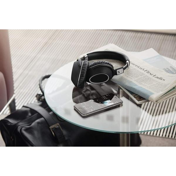 ゼンハイザー ワイヤレスノイズキャンセリングヘッドホン 密閉型/NFC・Bluetooth対応/aptX/折りたたみ式/リモコン・マイク付