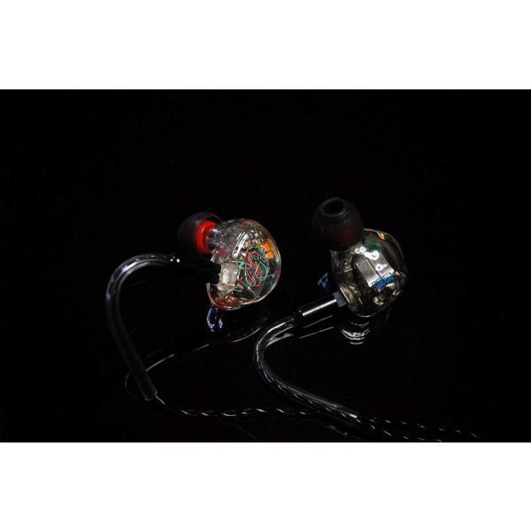 国内正規品 HEIR AUDIO IEM 8AI CLEAR 8xバランスドアーマチュア イヤホン(ケーブル脱着式)